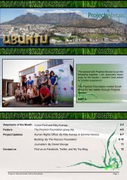 Projects Abroad South African Newsletter MAY 2012 Projects ...