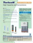 Sanyo Nickel-Metal Hydride Rechargeable Batteries - Page 7