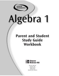 Algebra 1 Parent & Student Workbook - Azinga Cartoons