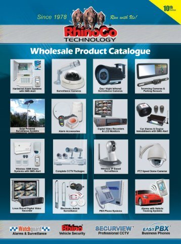 Wholesale Product Catalogue - RhinoCo Technology