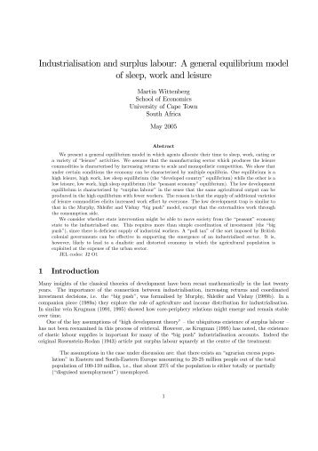large scale labor surplus at ford management essay The agricultural revolution of the middle-east required large-scale water management, therefore required centralized coordination and direction, which in turn required concentrated settlement hydraulic theory contends a society characterized by intensification of agriculture, a particular division of labor and co-operation on a large scale.