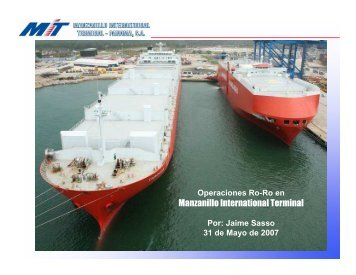 Operaciones de Manzanillo International Terminal - Panama Canal