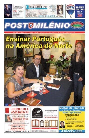 para os Portugueses e Luso Descendentes - Post Milenio