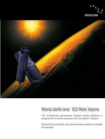 Motorola Iridium Mobile Satphone - Satellite Internet | Phone