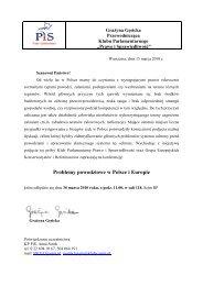 Problemy powodziowe w Polsce i Europie - Prawica