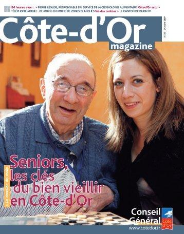 Télécharger Côte-d'Or Magazine n°96 - Octobre 2009 en PDF