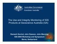 Presentation - IGS