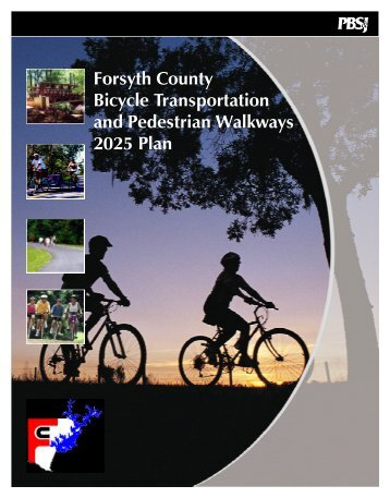 Bicycle Transportation & Pedestrian Walkway 2025 Plan