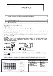 Elektronischer Phasenabschnitt-Dimmer (Art.-Nr ... - OPUS Schalter