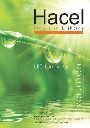 LED Luminaires - Hacel Lighting U. K.