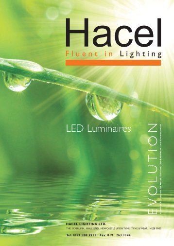 LED Luminaires - Hacel Lighting U. K.