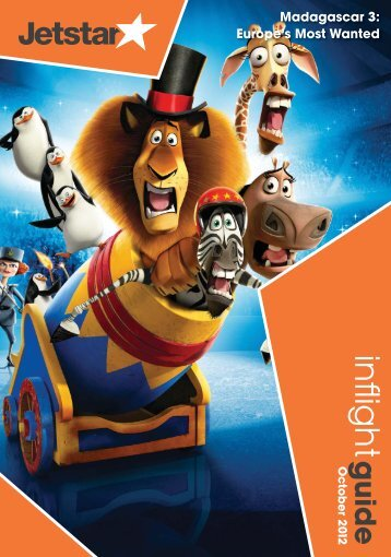 Madagascar 3: Europe's Most Wanted - Jetstar