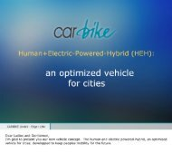 Edgar Löhr CARBIKE GmbH - Cities for Mobility