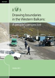 Download: Drawing Boundaries in the Western Balkans - Saferworld