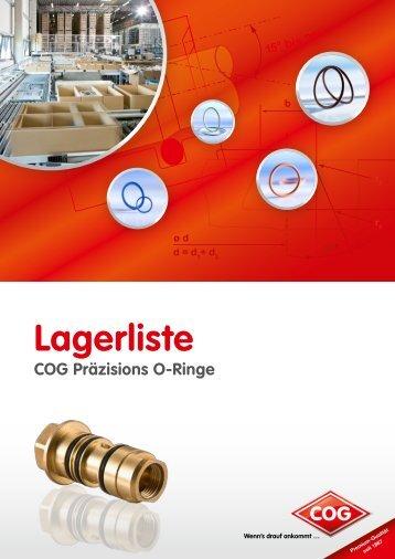 Lagerliste (Katalog) - C. Otto Gehrckens GmbH & Co. KG