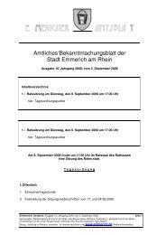 Amtsblatt 16 2008 - Emmerich