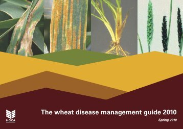 The wheat disease management guide 2010 - HGCA