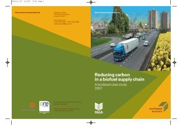 Reducing carbon in a biofuel supply chain - HGCA