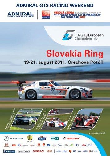 Slovakia Ring 19-21. august 2011, Orechová Potôň