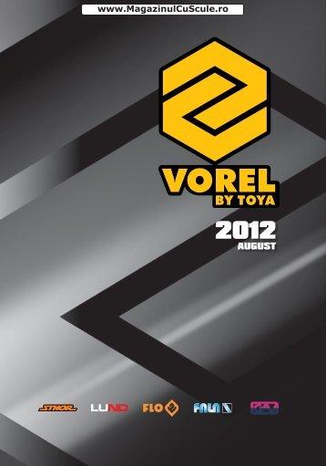 Catalog VOREL 2012 - August - Magazinulcuscule.ro