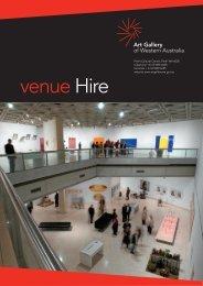 venueHire - Art Gallery of Western Australia