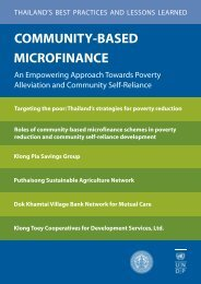 community-based microfinance - United Nations Development ...