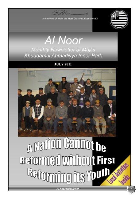 Al Noor - Majlis Khuddamul Ahmadiyya UK