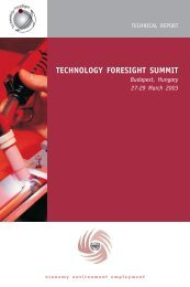 TECHNOLOGY FORESIGHT SUMMIT - Unido