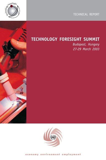 TECHNOLOGY FORESIGHT SUMMIT - Unido