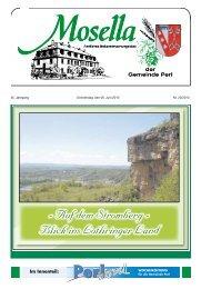 - Auf dem Stromberg - Blick ins Lothringer Land - Perl