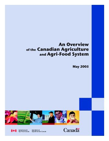 an overview of agriculture and food Agriculture, food, & natural resources the agriculture, food, and natural resources (afnr) career cluster prepares learners for careers in the planning, implementation, production, management, processing, and/or marketing of agricultural commodities and services.