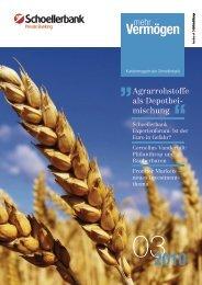 mehr Vermögen Ausgabe 3/2010 - Schoellerbank AG