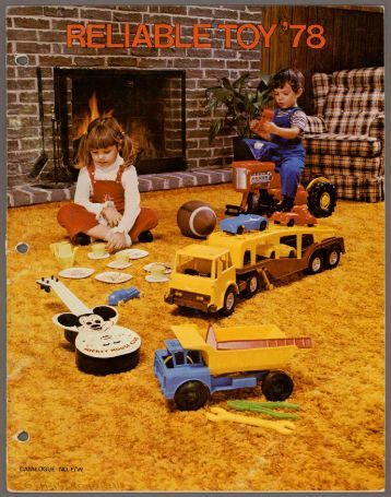 Reliable Toy - Catalogue no. F/W - 1978 PDF download