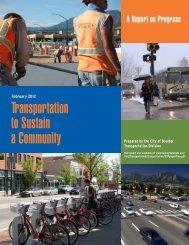 2012 Transportation Report on Progress - Smart Growth America