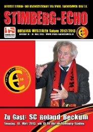 Stimberg-Echo SC Roland Beckum - SpVgg Erkenschwick