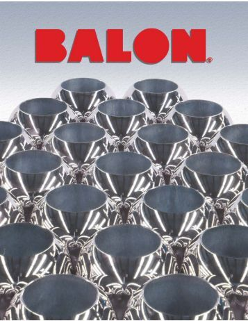 Complete 2008 Balon Catalog - CE Franklin Ltd.