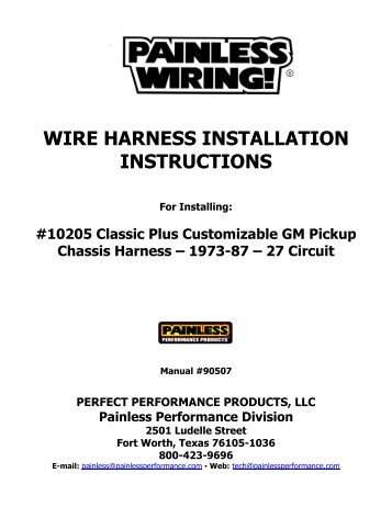wire harness instruction nos launcher 8 pin wire harness 1. multi wiring