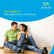 Your guide to Affordable home ownership - Hyde New Homes