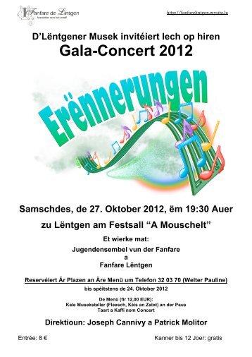Gala-Concert 2012 - Lintgen