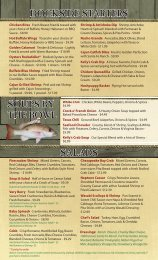 dockside starters salads soups by the bowl - Kelly's Tavern