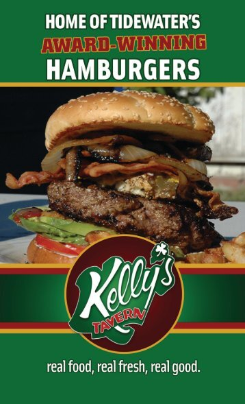 On your choice of - Kelly's Tavern