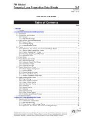 DS 3-7 Fire Protection Pumps (Data Sheet) - FM Global