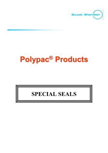 Polypac Special Seals - Dilanda.it