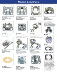 Titanium Components - Atlas International