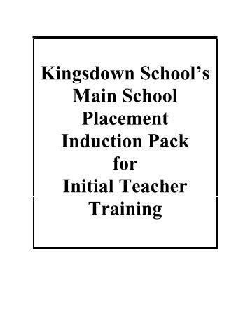 NQT Induction - Kingsdown School