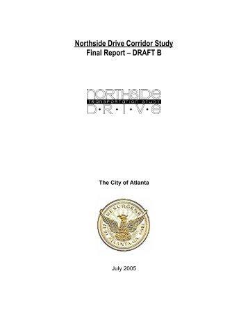 Northside Drive Corridor Study Final Report ... - City of Atlanta GIS