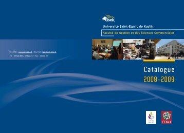 Licence - Université Saint-Esprit De Kaslik