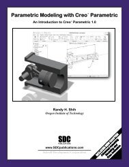 Parametric Modeling with Creo™ Parametric - SDC Publications