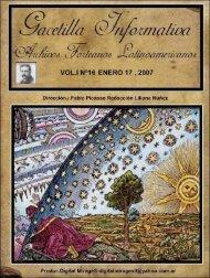 Vol I Nº16 - Archivos Forteanos Latinoamericano.