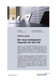 Differentiate. Der neue strategische Imperativ für den CIO - CIO.de